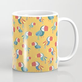 Yellow Toucan Birds Coffee Mug