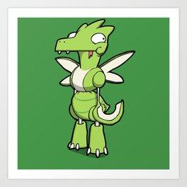 Pokémon - Number 123 Art Print