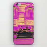 mini iPhone & iPod Skins featuring MINI by Louisa Rogers
