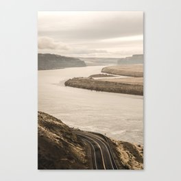 Columbia River Road Trip - Adventure Travel Photography Canvas Print