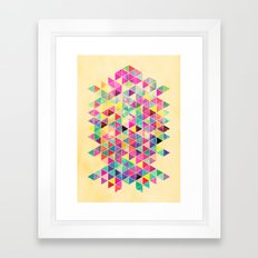 Kick of Freshness Framed Art Print