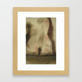 Klooster Series: Seated Nude #43 Framed Art Print