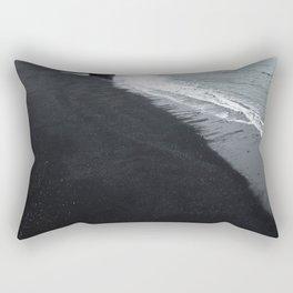 beach of vik in iceland Rectangular Pillow