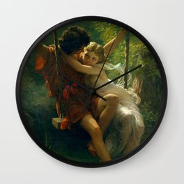 Pierre Auguste Cot Spring Time Wall Clock