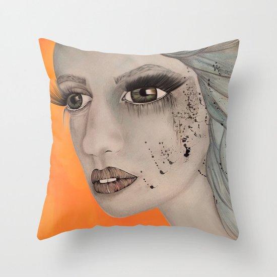 Seeing Throw Pillow