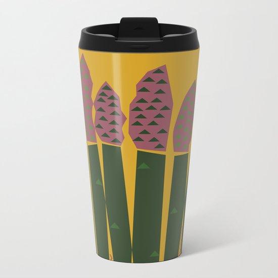 Asparagus Metal Travel Mug