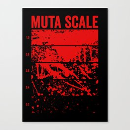 Muta Scale Canvas Print
