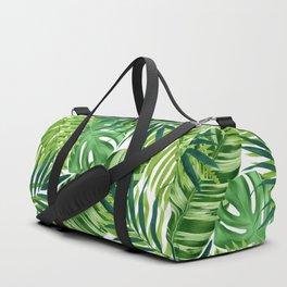 Tropical leaves III Duffle Bag