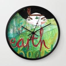Eart(H)eart Wall Clock