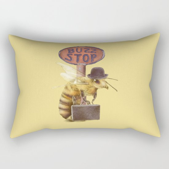 Worker Bee (colour option) Rectangular Pillow