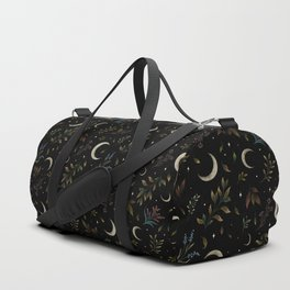 Crescent Moon Garden Duffle Bag