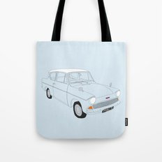 Weasley's Flying Ford Anglia Tote Bag