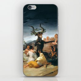 The Sabbath of Witches Goya Painting iPhone Skin