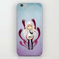 anxiety iPhone & iPod Skins featuring Anxiety by Freeminds