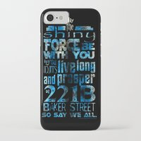 fandom iPhone & iPod Cases featuring Fandom Motto by Tracey Gurney