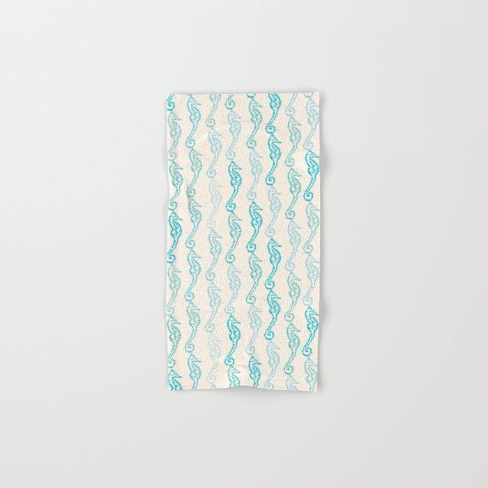 Pastel Marine Pattern 01 Hand & Bath Towel