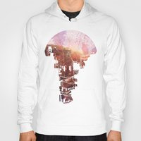 women Hoodies featuring Secret Streets by David Fleck
