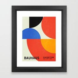 Bauhaus Exhibition 1923 II: Mid-Century Series Framed Art Print