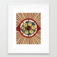 food Framed Art Prints featuring Food by Tonz
