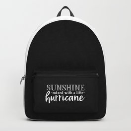 Sunshine Mixed With A Little Hurricane Backpack