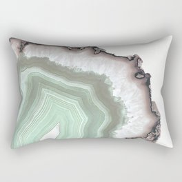 Light Water Agate Rectangular Pillow