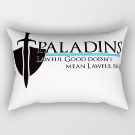 Paladin Rectangular Pillow