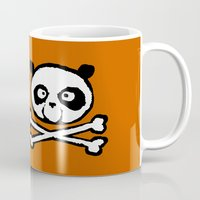 logo Mugs featuring Logo by Bouletcorp