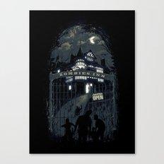 Zombies Inn Canvas Print