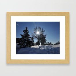 After The Snow 3 Framed Art Print