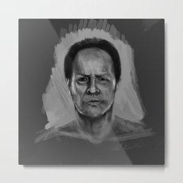 Colorless Metal Print