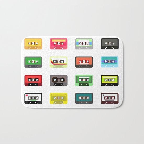 Cassete pattern Bath Mat