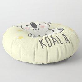 SAVE THE  KOALA Floor Pillow