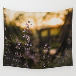 Sunset Walk Wall Tapestry