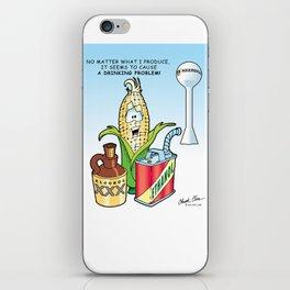 Ethanol & Alchohol Drinking Problem iPhone Skin