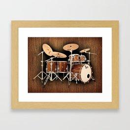 Hendrix  Drums Framed Art Print