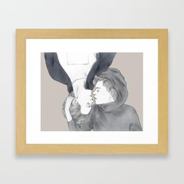 ALT ER LOVE. Framed Art Print