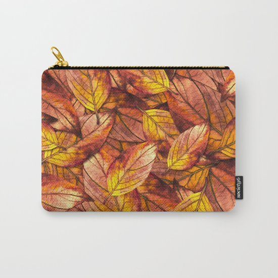 Autumn Leaves 03 Carry-All Pouch
