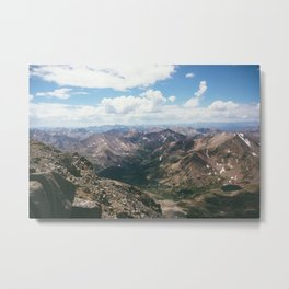 Half Moon Lakes Metal Print