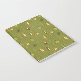 Kitschy Tiki Pattern Notebook