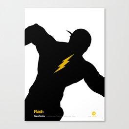 SuperSeries: Flash Canvas Print