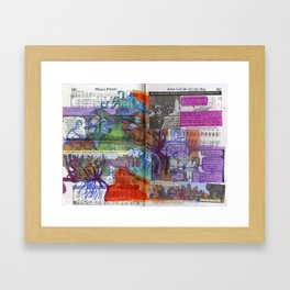 What a Friend Framed Art Print