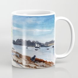 Saint-Maló beach Coffee Mug