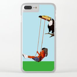 toucan swing Clear iPhone Case