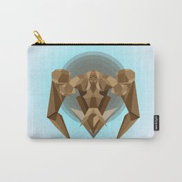 Chocolate Robot Carry-All Pouch