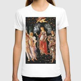Sandro Botticelli La Primavera 1482 T-shirt