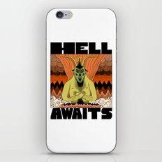Hell Awaits iPhone Skin