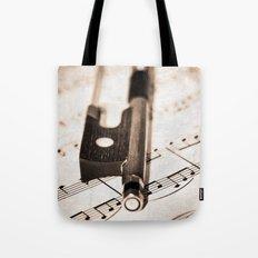 Violin Bow Tote Bag