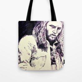 David Gilmour sketch Tote Bag