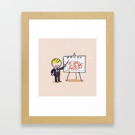 Sales Framed Art Print