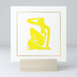 Henri Matisse, Nu Jaune II (Yellow Nude II) lithograph modernism portrait painting Mini Art Print